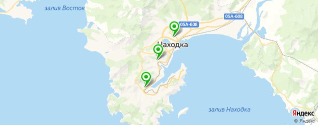 академии на карте Находки