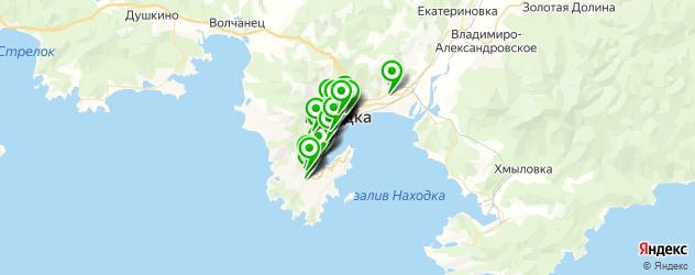 Бытовые услуги на карте Находки