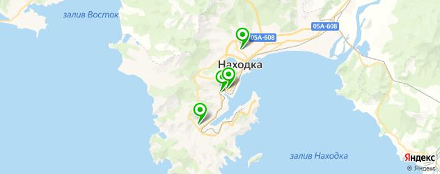 колледжи на карте Находки