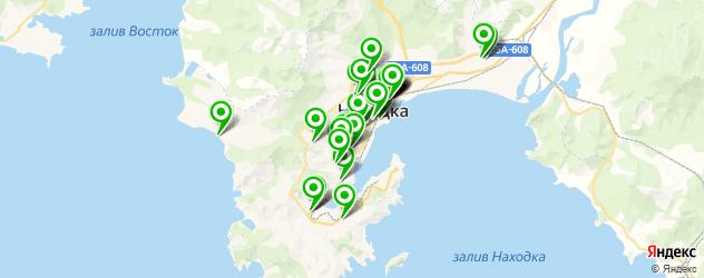 доставка на карте Находки