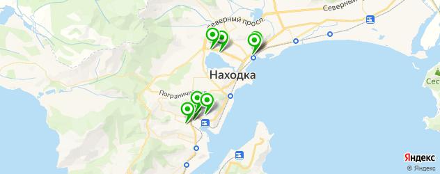 Доставка пиццы на карте Находки