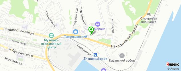 театры на карте Находки