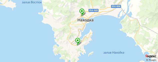 велнесы-клубы на карте Находки