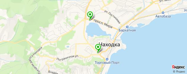 катки на карте Находки