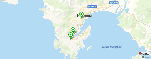 рестораны с детской комнатой на карте Находки