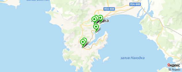 рестораны с живой музыкой на карте Находки