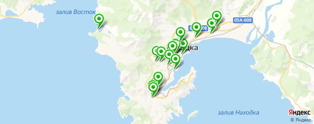 рестораны для дня рождения на карте Находки