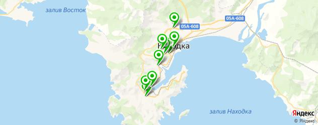 лаборатории анализов на карте Находки