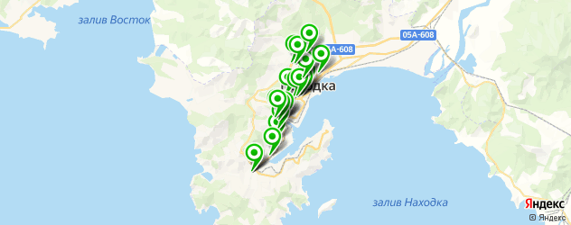 массажные салоны на карте Находки