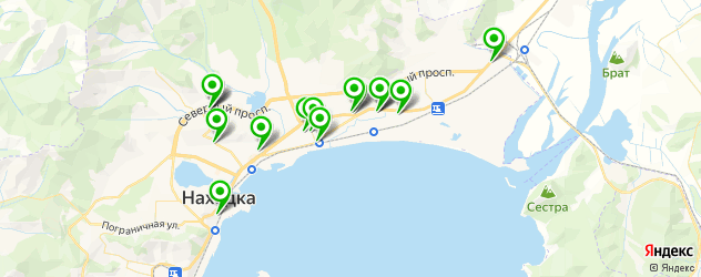 мотосалоны на карте Находки