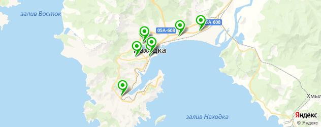 кофейни на карте Находки