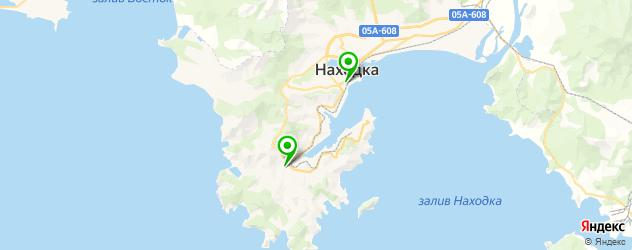 японские рестораны на карте Находки