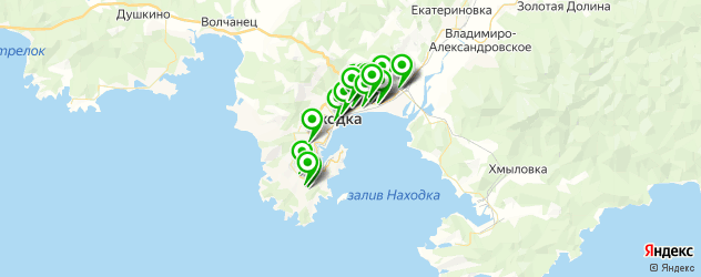 магазины шин и дисков на карте Находки