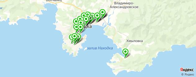 автомойки на карте Находки