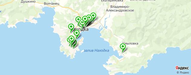 магазины автоаксессуаров на карте Находки
