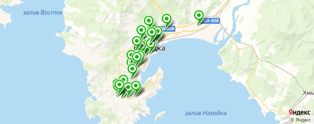 стоматологические клиники на карте Находки
