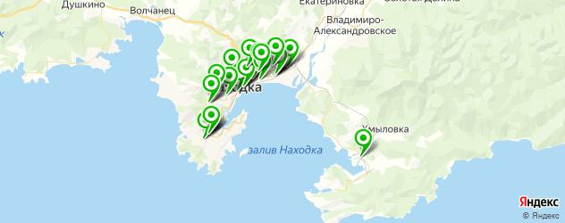 автосервисы на карте Находки