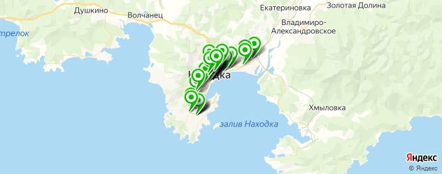 кондитерские на карте Находки