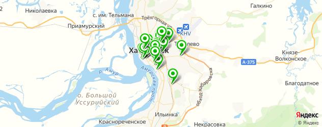 организация фуршетов на карте Хабаровска