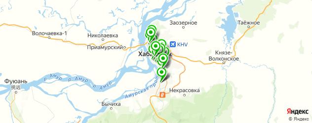 очки на заказ на карте Хабаровска