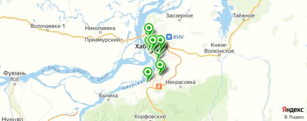 где купить парфюмерию на карте Хабаровска