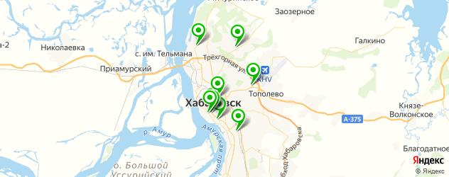 культурные центры на карте Хабаровска