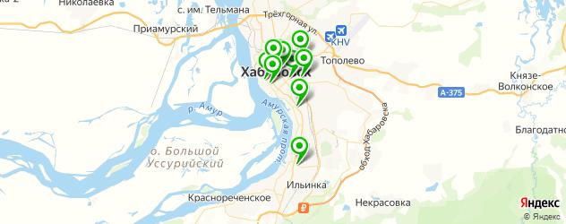 тату салон на карте Хабаровска