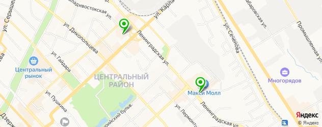 итальянские рестораны на карте Хабаровска