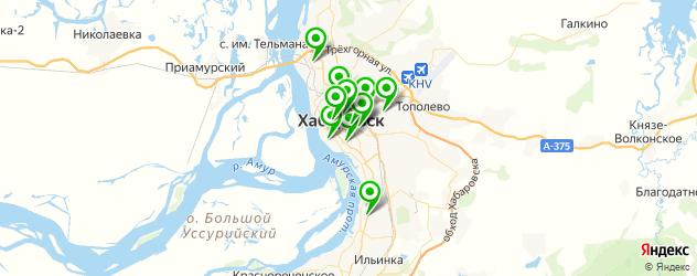 караоке-клубы на карте Хабаровска