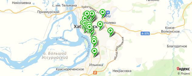СПА салон на карте Хабаровска