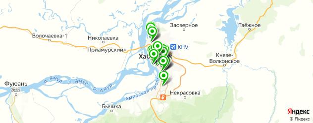 полиграфия на карте Хабаровска