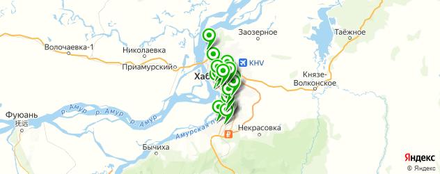 мебельные мастерские на карте Хабаровска