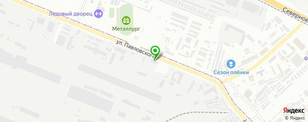 картинги на карте Комсомольска-на-Амуре