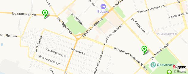 квесты на карте Комсомольска-на-Амуре