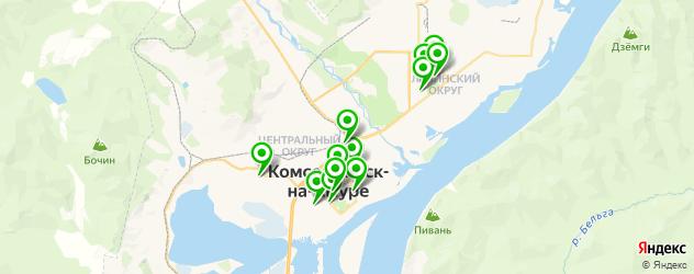 имплантация зубов на карте Комсомольска-на-Амуре