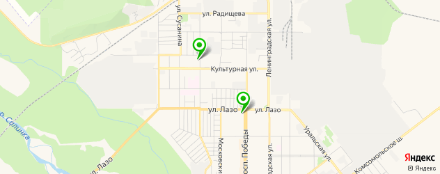 пекарни на карте Комсомольска-на-Амуре