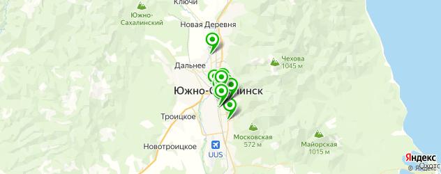 ламинирование документов на карте Южно-Сахалинска