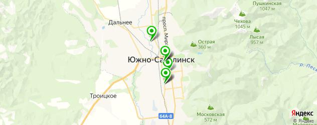 лаборатории анализов на карте Южно-Сахалинска