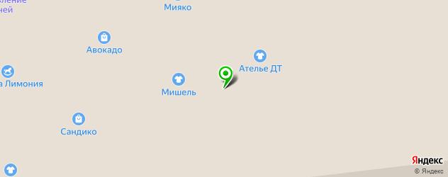 где купить парик на карте Южно-Сахалинска