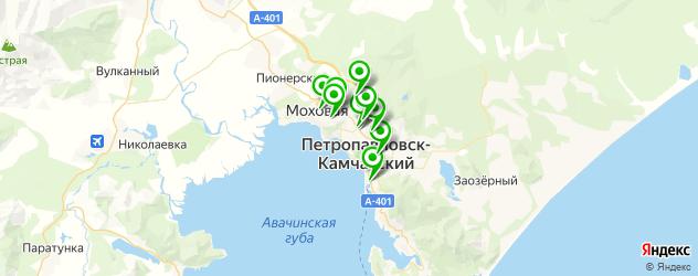 детская игровая комната на карте Петропавловска-Камчатского