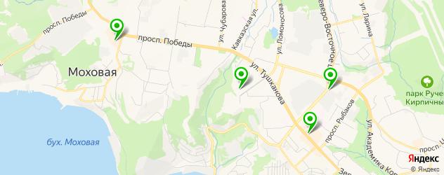 детские развлекательные центры на карте Петропавловска-Камчатского