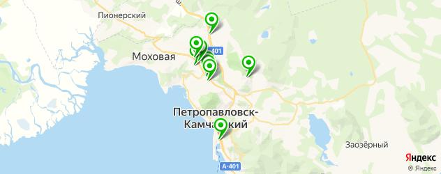 СПА салон на карте Петропавловска-Камчатского