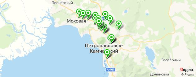 центры косметологии на карте Петропавловска-Камчатского