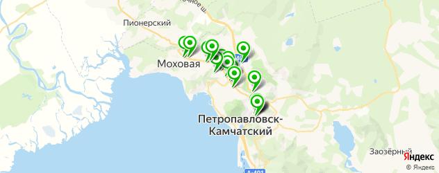 пирсинги салон на карте Петропавловска-Камчатского