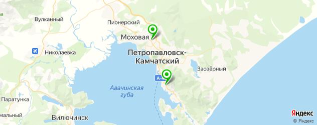 художественные школы на карте Петропавловска-Камчатского