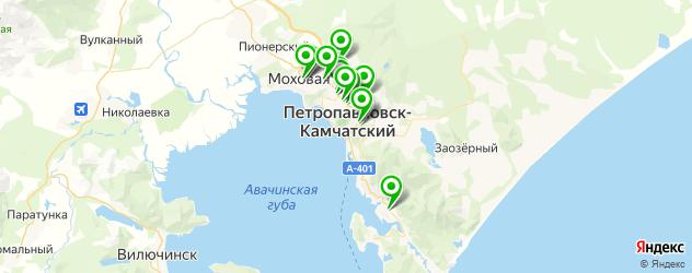 ювелирные мастерские на карте Петропавловска-Камчатского
