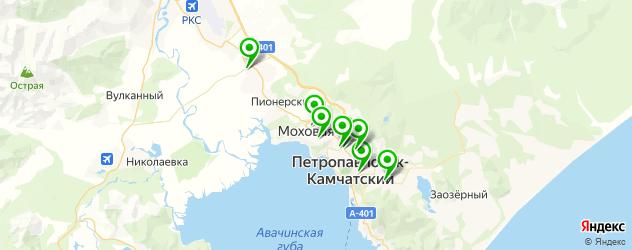 караоке-клубы на карте Петропавловска-Камчатского