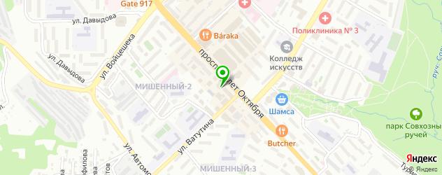 сервисные центры Самсунг на карте Петропавловска-Камчатского