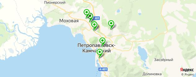 изготовления ключей на карте Петропавловска-Камчатского