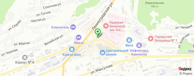 модельные агентства на карте Петропавловска-Камчатского